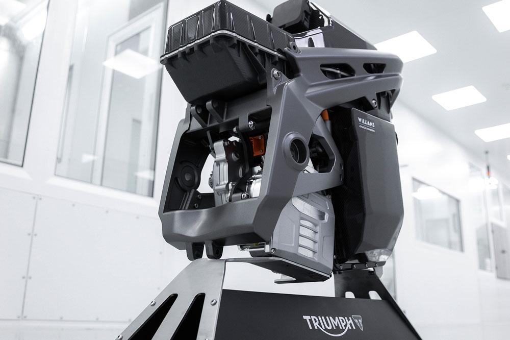 El diseño final del chasis y subchasis de la Triumph Eléctrica se desarrollará en la próxima fase del proyecto