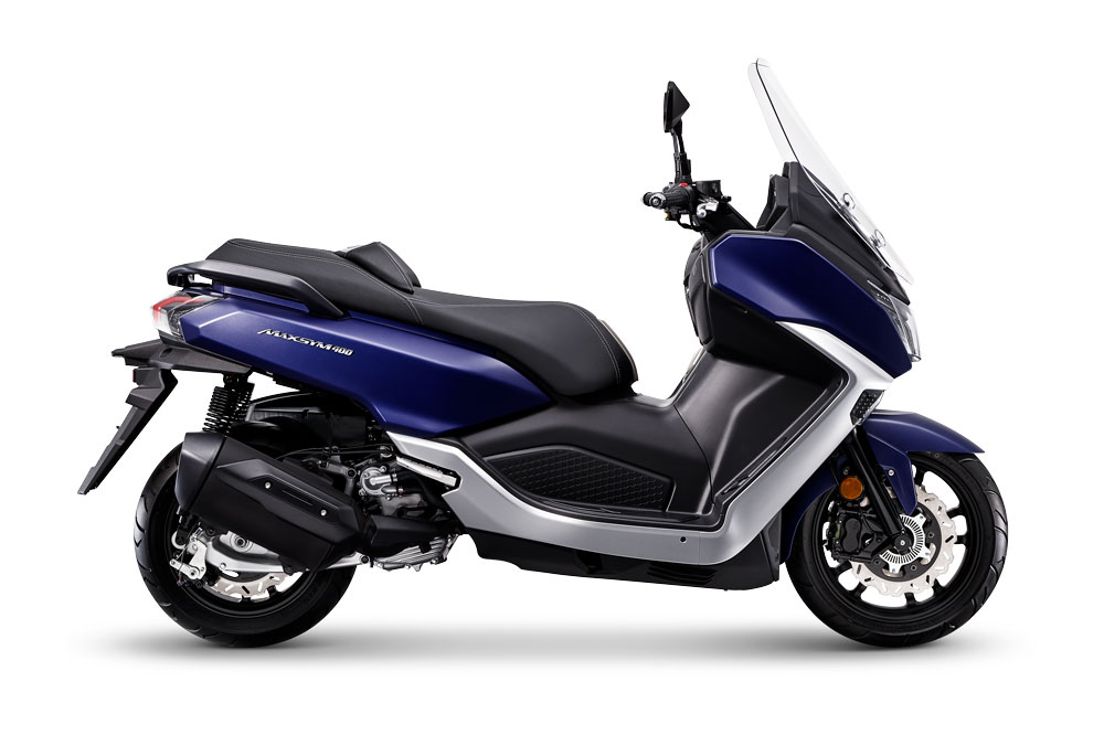 Los cambios estéticos han venido muy bien a un scooter que se muestra ahora más compacto y deportivo