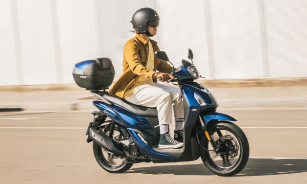 SYM Symphony 2021: Si buscas un scooter 125 práctico…