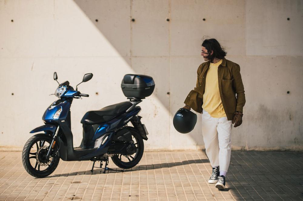 Tras el confiamiento por la COVID-19 el SYM Symphony 125 se ha convertido en uno de los scooter de rueda alta más vendidos en España