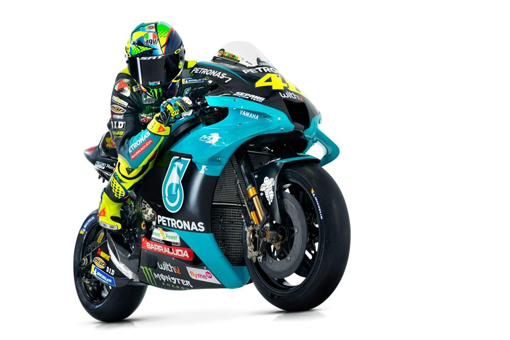 Así serán los colores de Valentino Rossi para este año 2021 en MotoGP