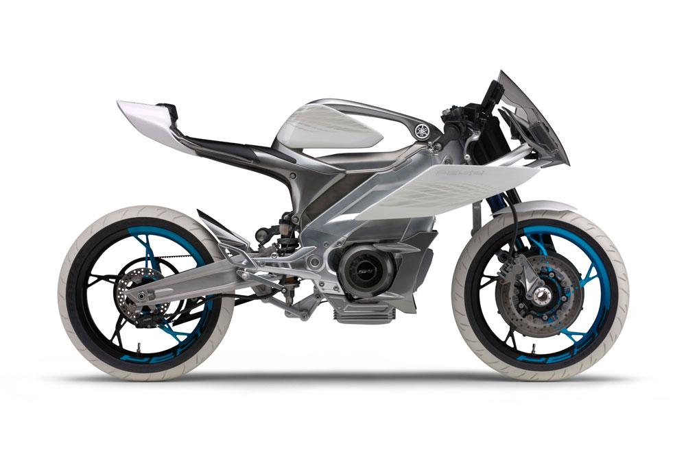 Prototipo de moto Yamaha Eléctrica