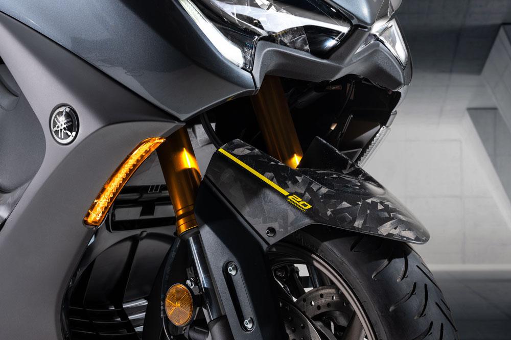 Del Yamaha TMax 20 Aniversarios sólo se fabricarán 560 unidades