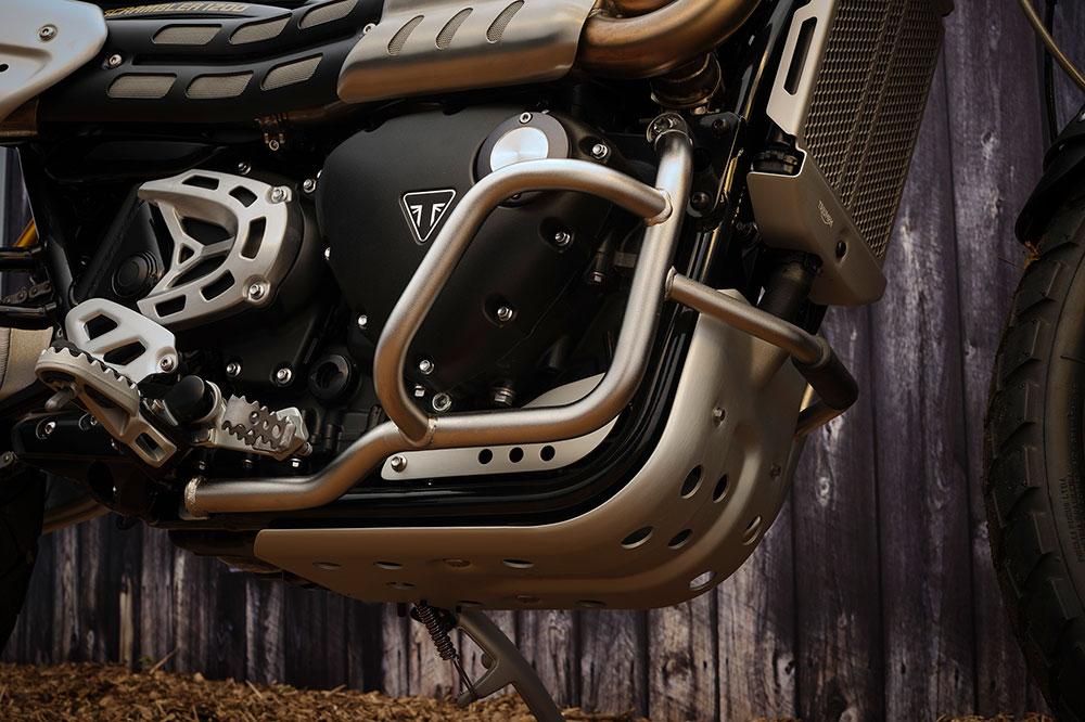Protectores del motor en la versión McQueen