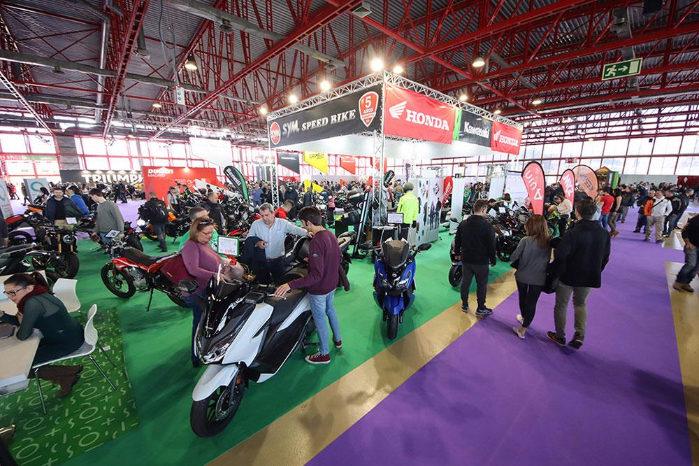 Motorama Madrid fue el último salón de la moto que se pudo celebrar antes de la crisis de la COVID-19