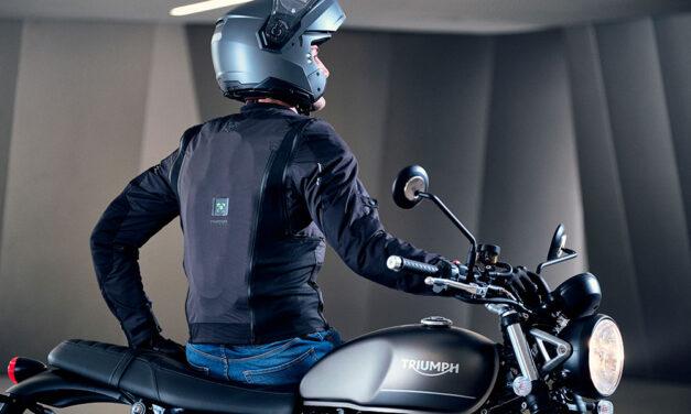 Airscud es el nuevo chaleco airbag para moto de Tucano Urbano