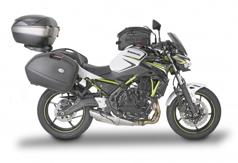 Equipa tu Kawasaki Z650 con Kappa
