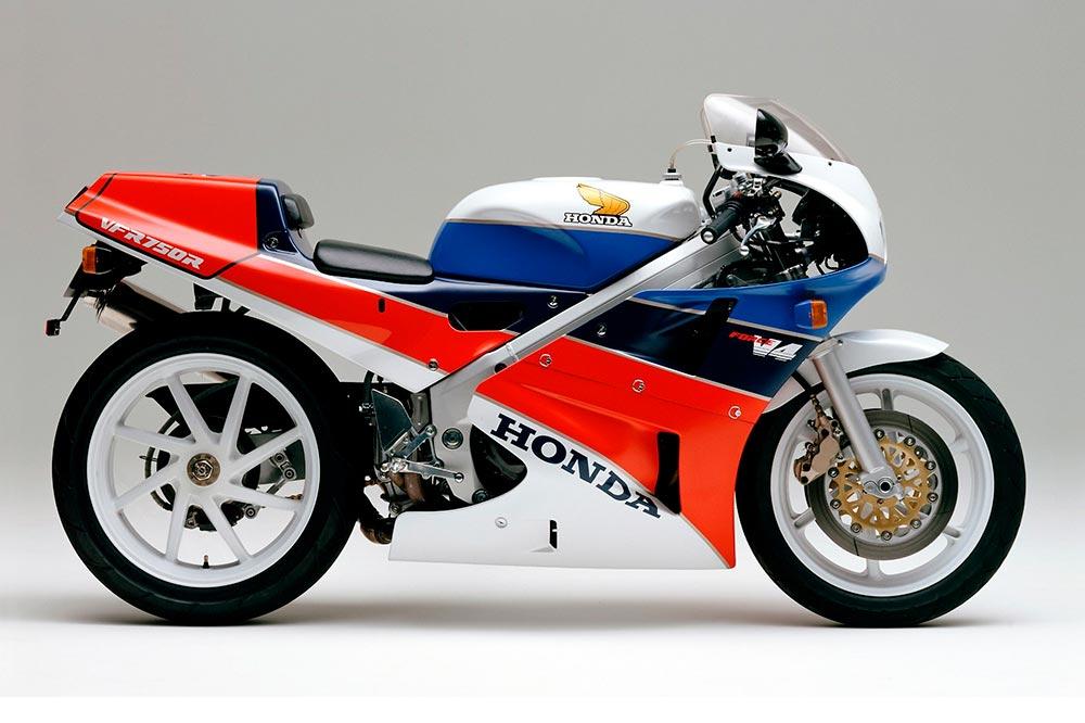 La Honda RC30 llegó a Europa en 1988