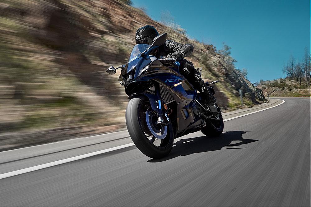 La base de la MT 07 le viene de maravilla para esta moto con carenado completo