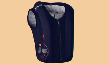 Protégete en moto con el nuevo chaleco Fury Airbag de Furygan