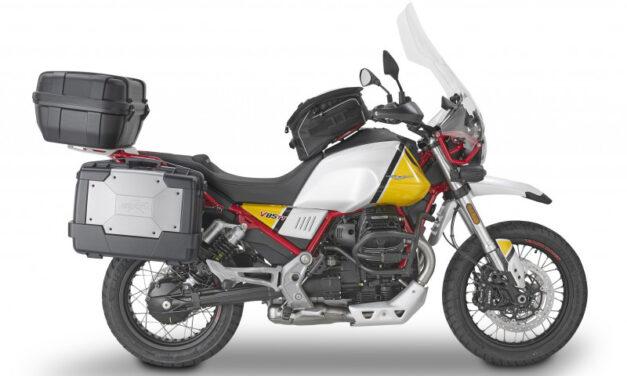 Gama de accesorios Kappa para la Moto Guzzi V 85 TT