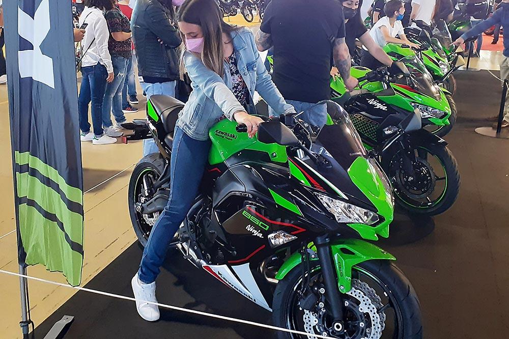 En Motorama Madrid 2021 se pudieron ver algunas de las novedades Kawasaki