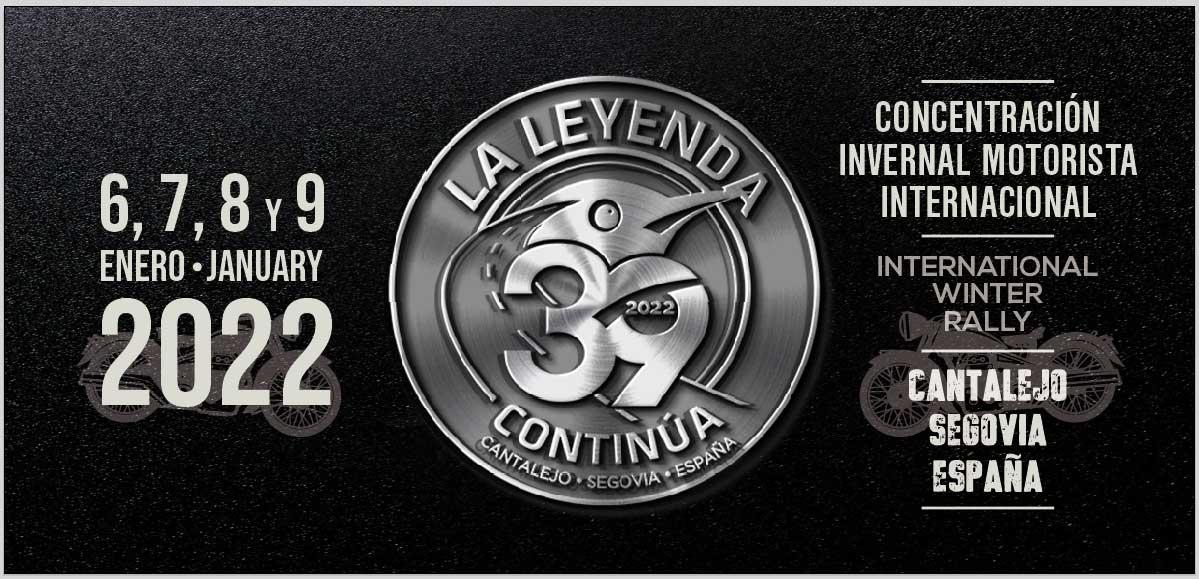 Cartel concentración La Leyenda Continúa 2022