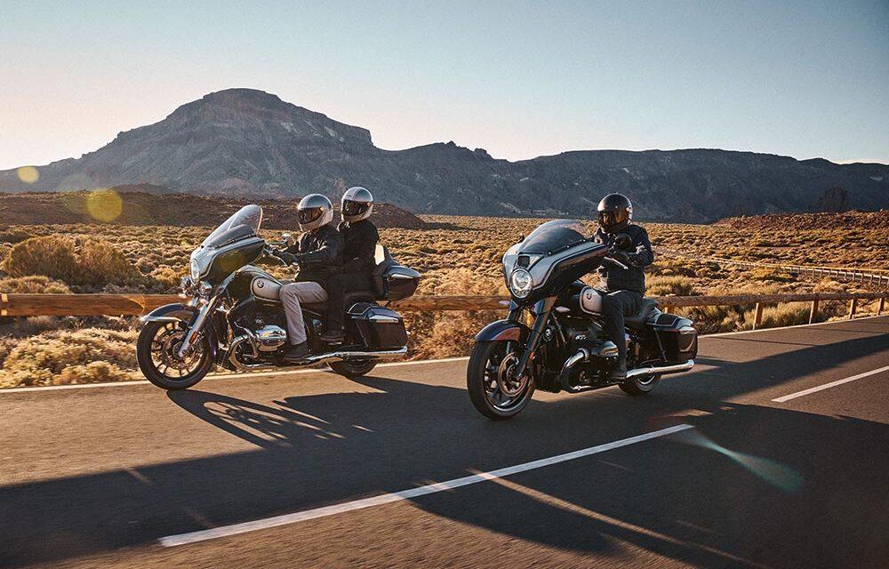 BMW R 18 Transcontinental y Bagger: La familia crece