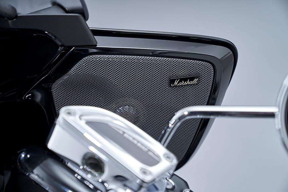 Marshall ha desarrollado el sistema de audio de las BMW R 18 Transcontinental y Bagger