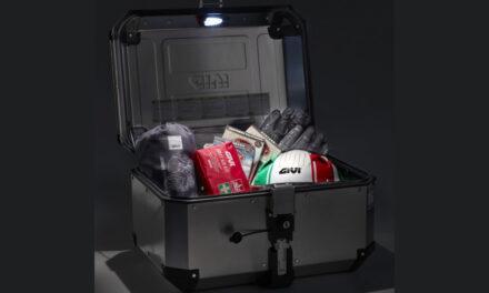 luz interior de cortesía E198 para las maletas de aluminio de Givi