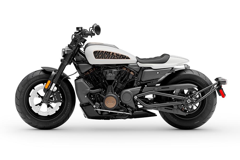 Como buena Harley, la gama de accesorios es extensa