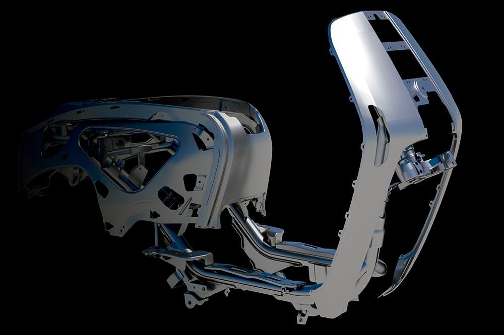 El chasis de las nuevas Lambretta sigue fiel al diseño original, pero con las mejoras del Siglo XXI