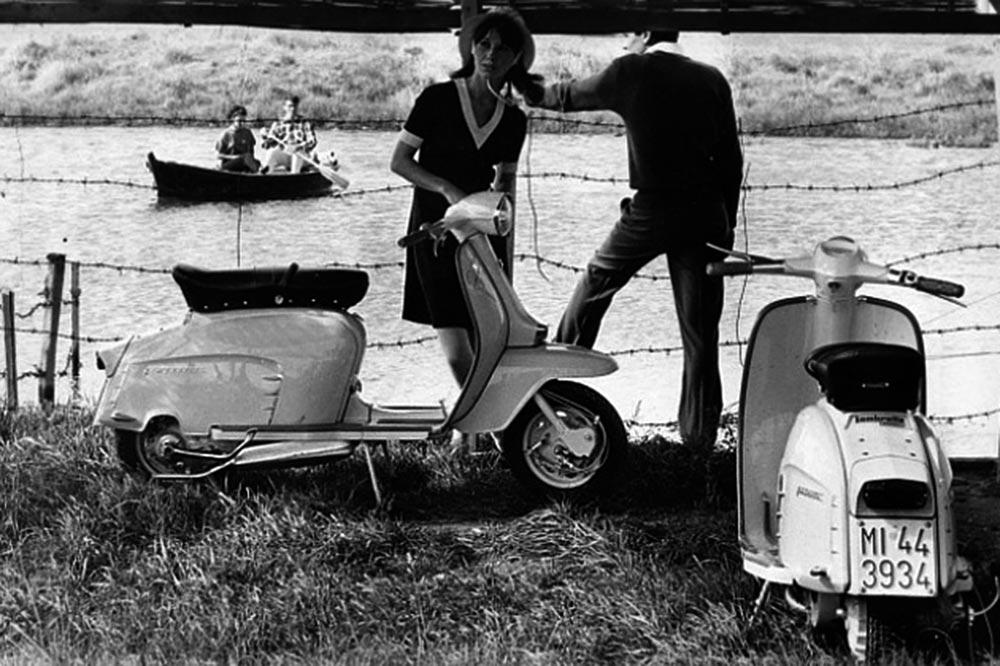 Las Lambretta fueron las grandes rivales de las Vespa desde sus orígenes