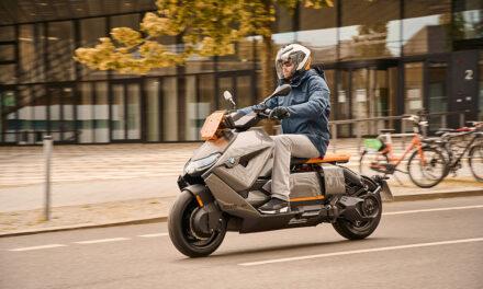 BMW CE 04: Así serán los scooter eléctricos