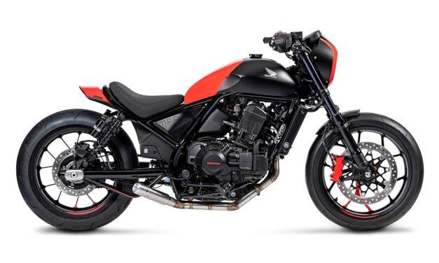 Honda CMX 1100 Rebel Sport y Bobber