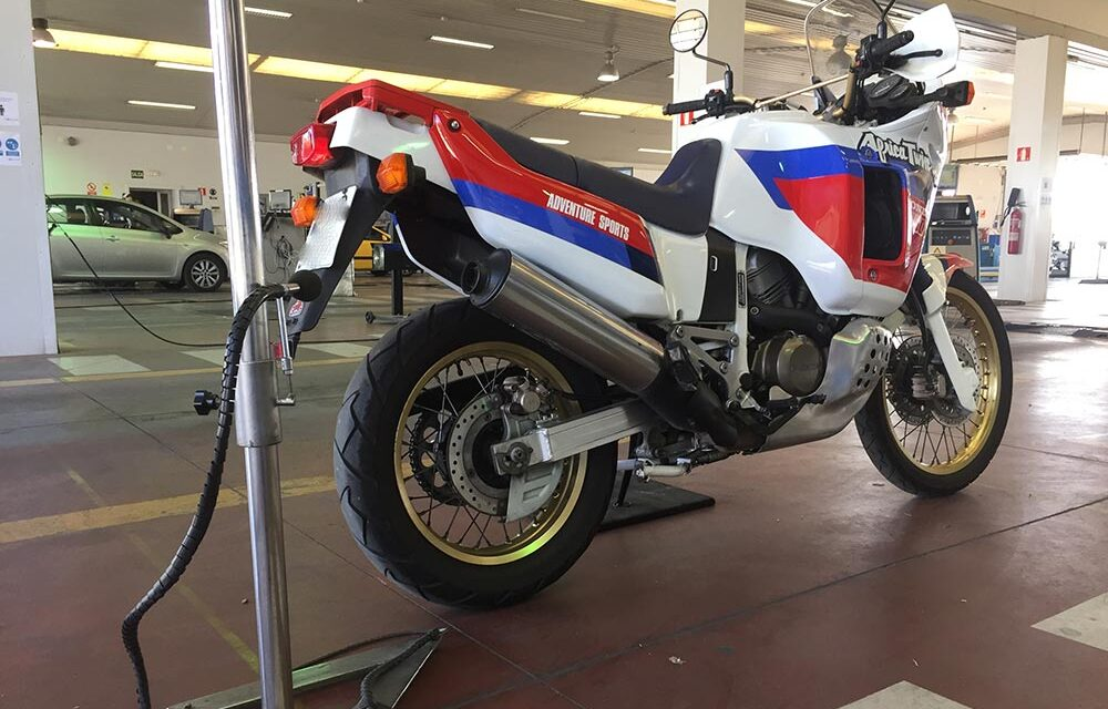 ¿Pasas la ITV de tu moto?