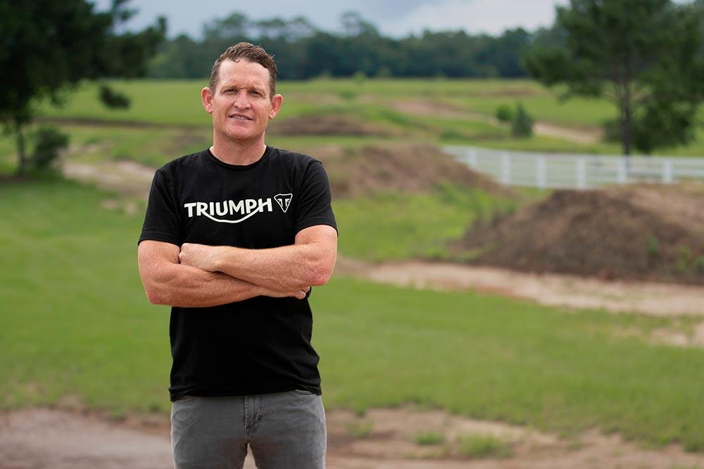 Ricky Carmichael colaborará en el desarrollo de las motos y del equipo Triumph de Motocross