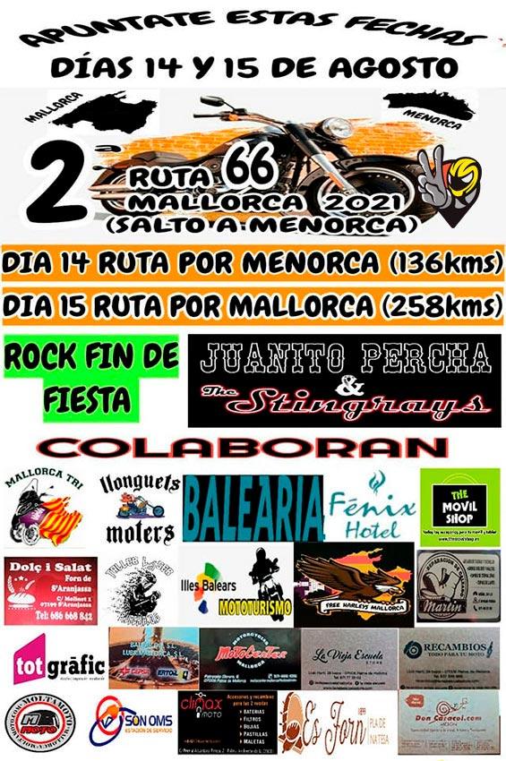 Ruta 66 Mallorca 2021