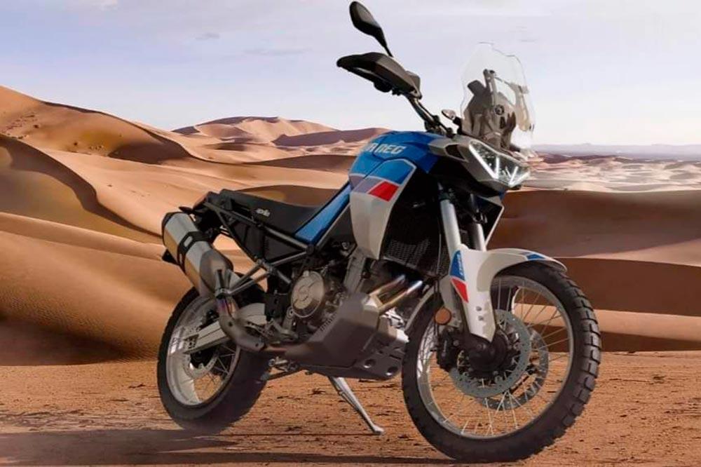 La Aprilia Tuareg 660 ya rueda y algunos periodistas han podido probar las unidades pre-serie