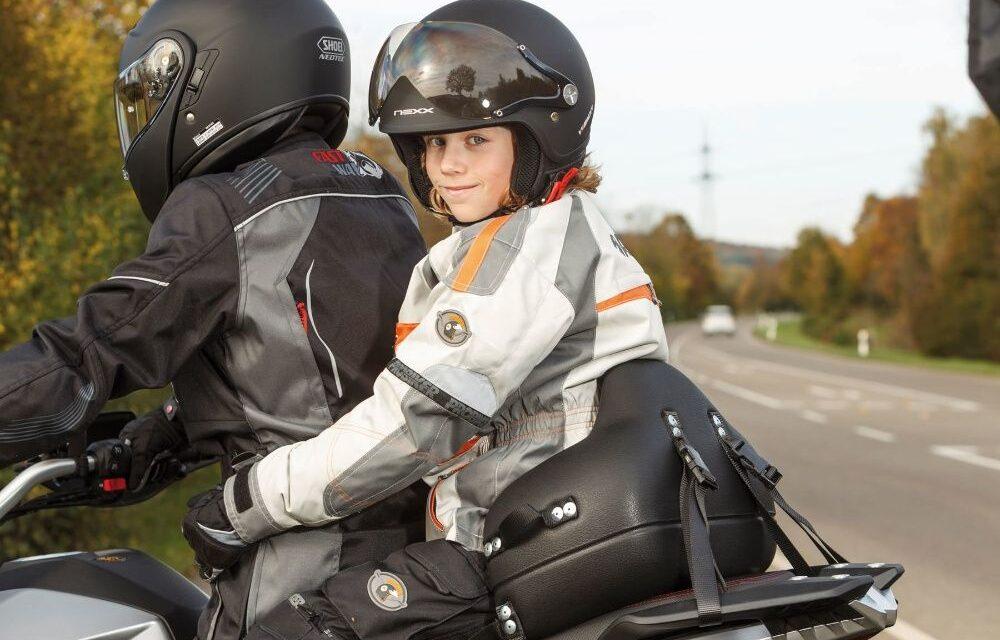 Niños en moto o scooter: ¿A partir de qué edad?