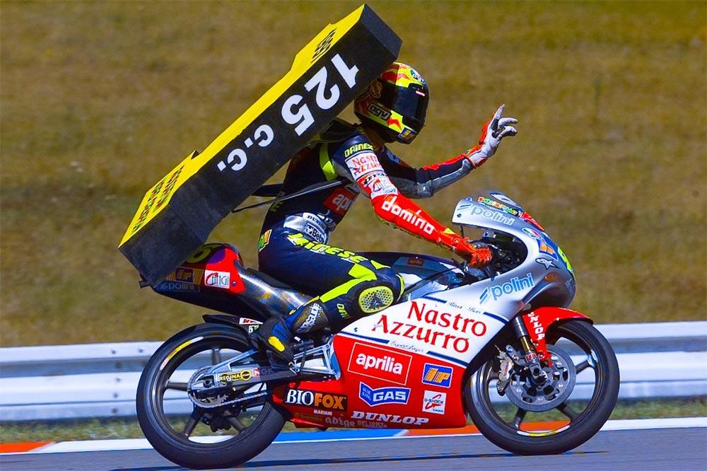 Primer título en 125 con Aprilia en 1997