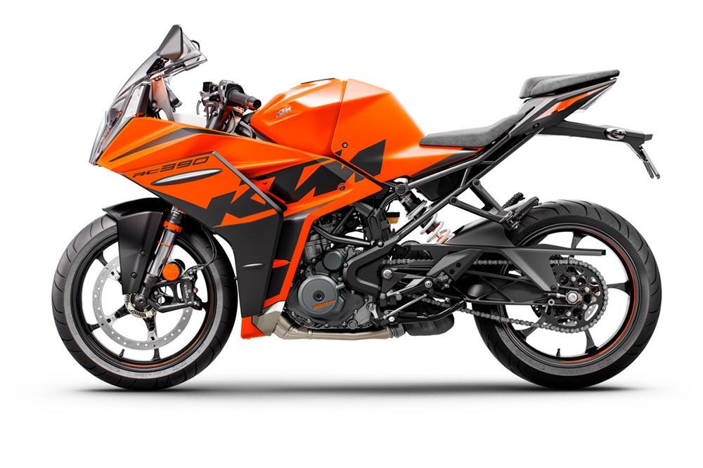 La KTM RC 390 es una deportiva para el carnet A2, una perfecta moto-escuela