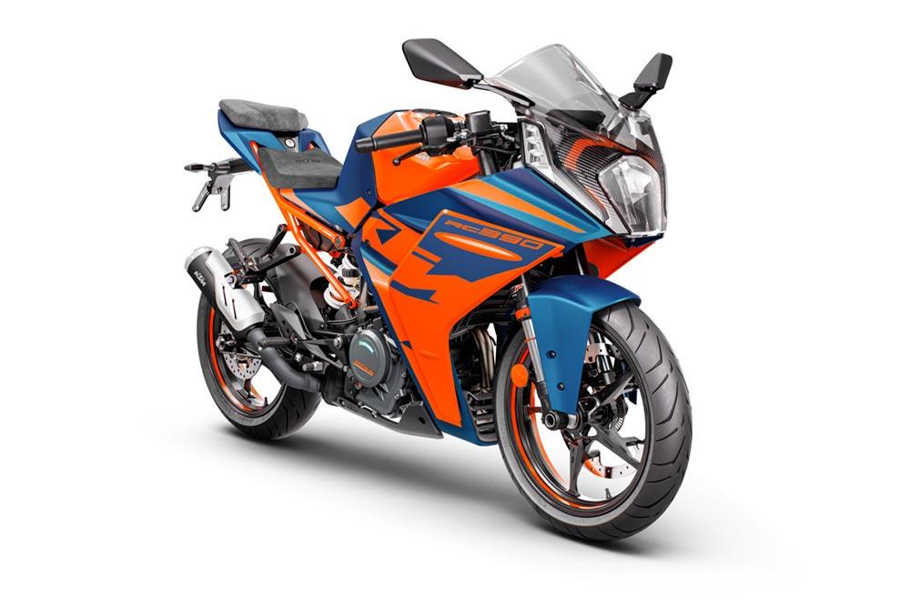 KTM ha buscado mejorar la ergonomía de sus deportivas RC