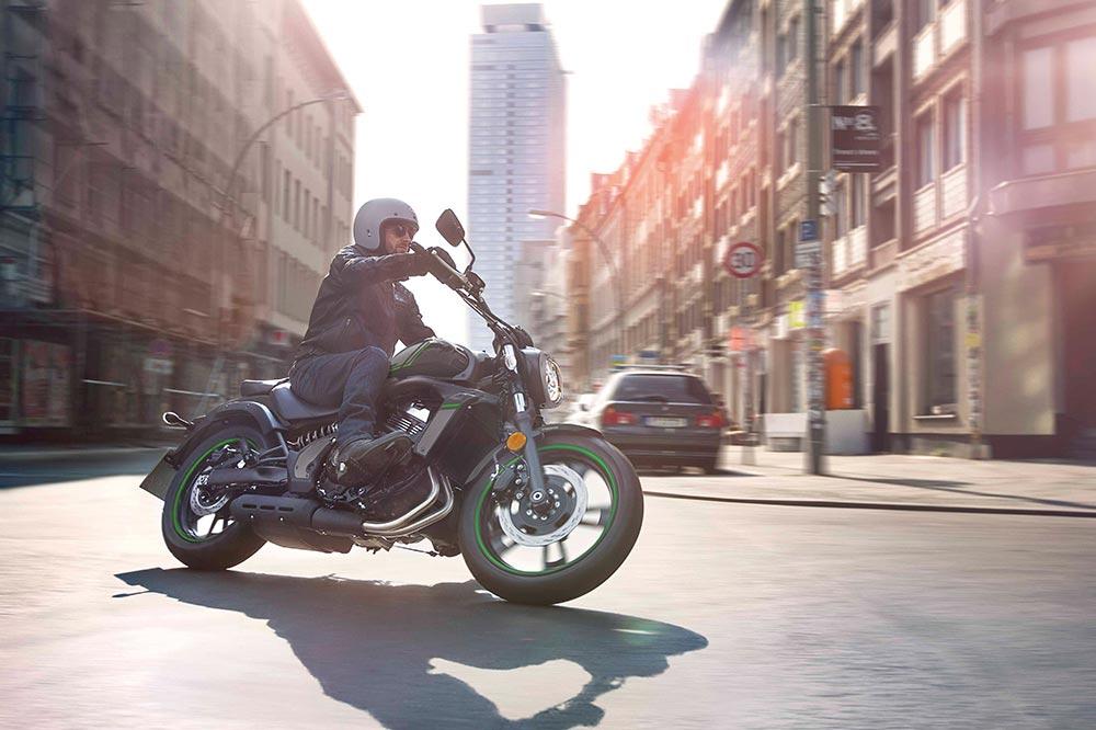 La facilidad de conducción es uno de los detalles destacados de la Kawasaki Vulcan S