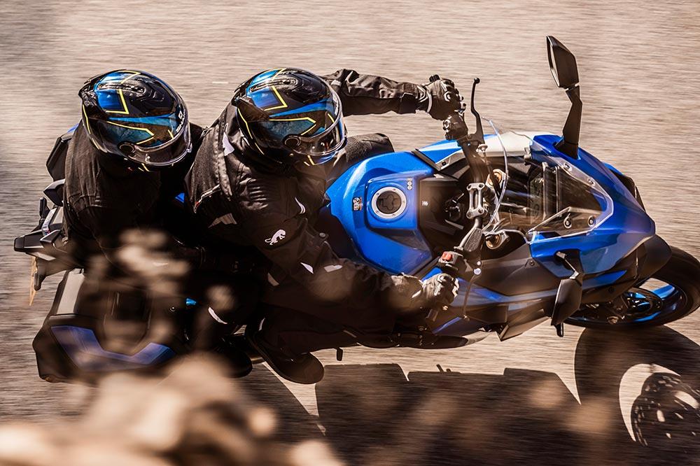 Una moto pensada para viajar en solitario o acompañado