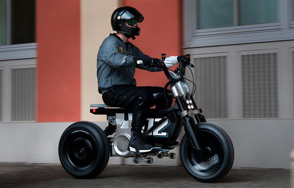 BMW CE 02 Concept: La moto urbana del futuro