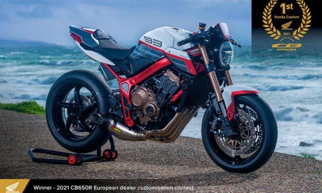 Honda CB 650R Fenix, vencedora del European Honda Customs