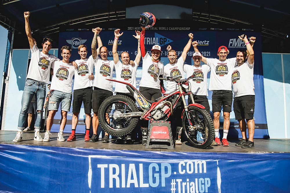 Laia Sanz ha vuelto al trial para cosechar un nuevo título de campeona del mundo