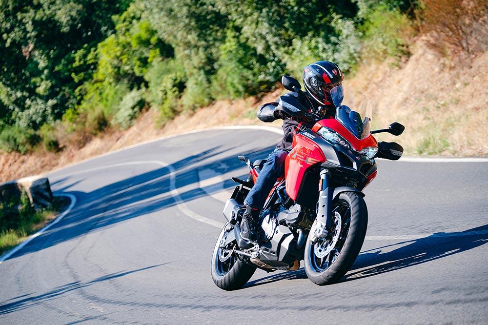 Ducati ha intentado que su Multistrada V2 sea más cómoda