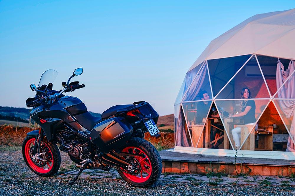Ducati sabe imprimir ese toque de belleza a todas sus motos
