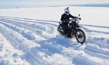 Hasta el Polo Sur, en Royal Enfield