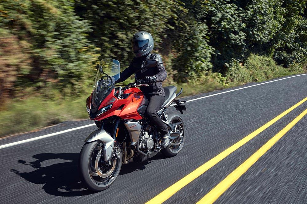 La Tiger Sport 660 puede limitarse para el carnet A2