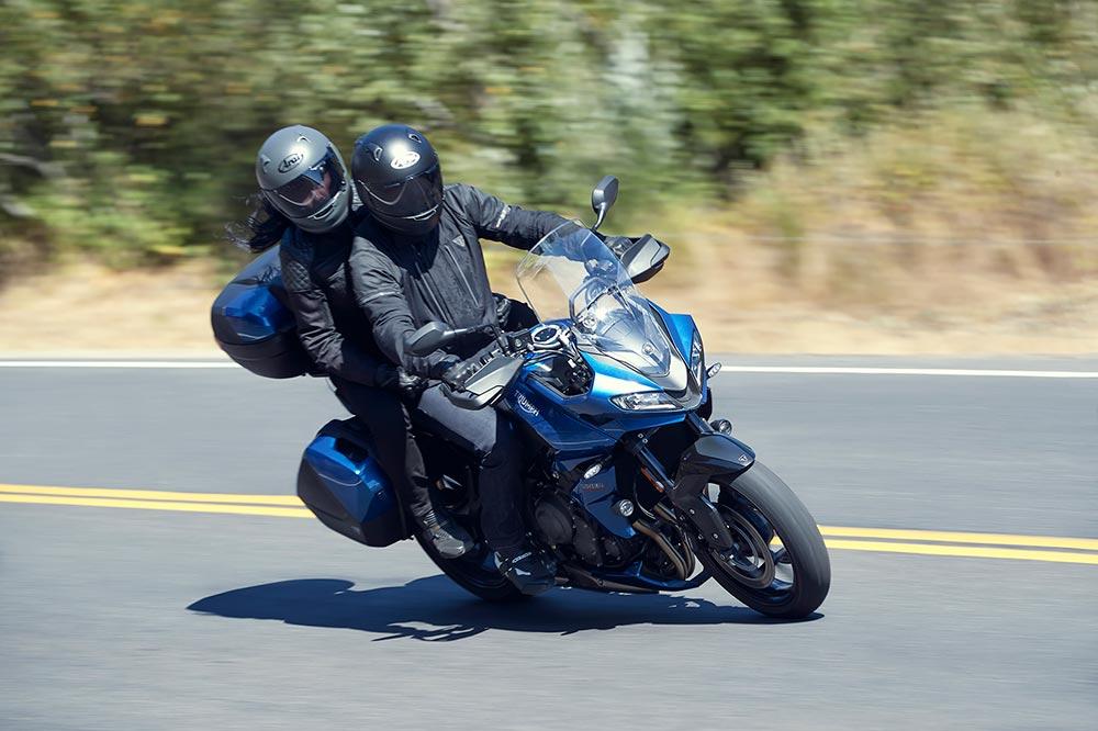 Una moto perfecta para viajar solo o acompañado
