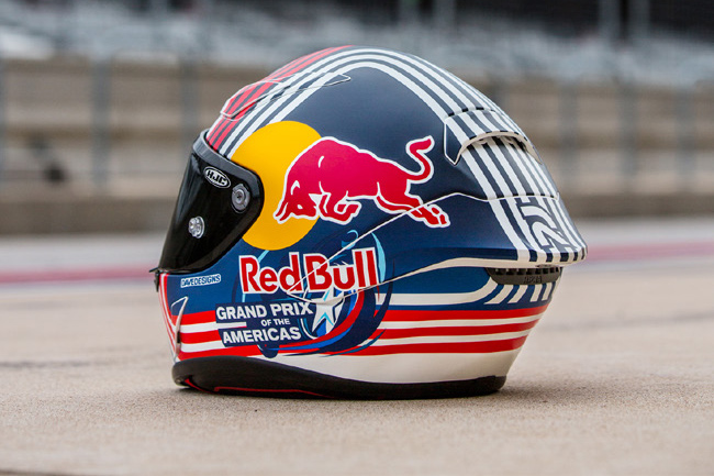 Casco RPHA 1 Red Bull Austin GP