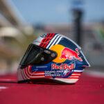 Casco RPHA 1 Red Bull Austin GP de HJC Helmets