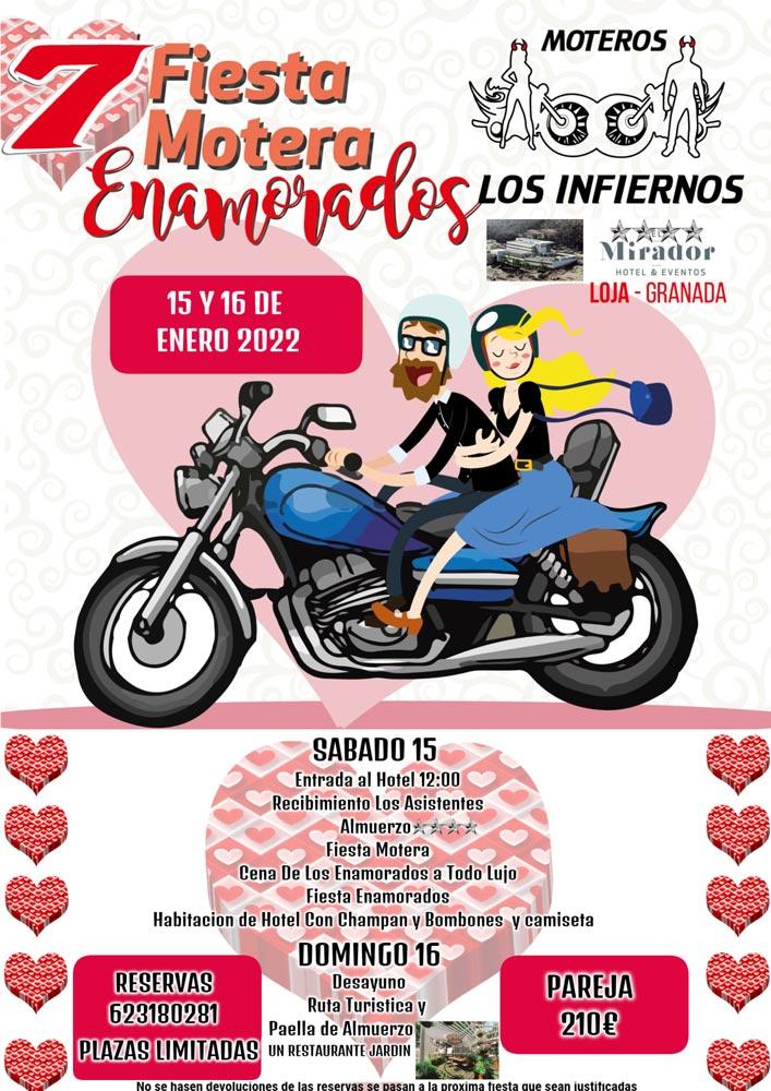 Fiesta Motera Los Enamorados en Loja (Granada)