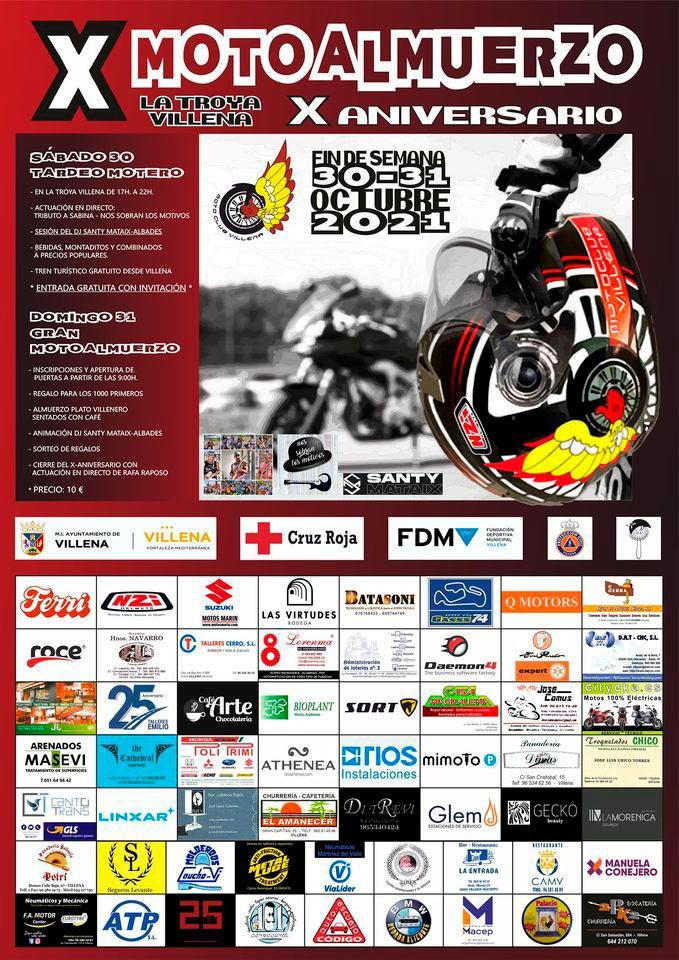 X Motoalmuerzo Motoclub Villena